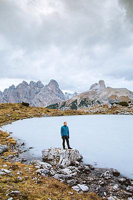 See in den Dolomiten - p1396m1578339 von Hartmann + Beese