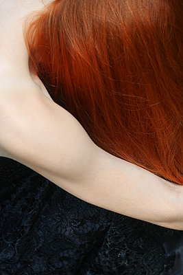Red-haired woman - p450m1466405 by Hanka Steidle