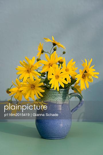 Topinamburblüte - p116m2015419 von Gianna Schade