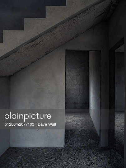 empty concrete interior - p1280m2077193 by Dave Wall