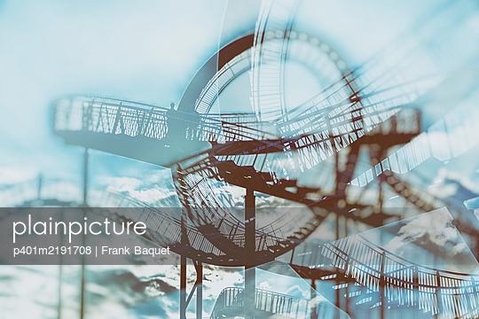 Tiger & Turtle Magic Mountain Duisburg - p401m2191708 by Frank Baquet