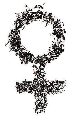 Symbol für weiblich  - p450m1051075 von Hanka Steidle