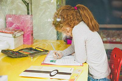 Hausaufgaben machen - p904m1481065 von Stefanie Päffgen