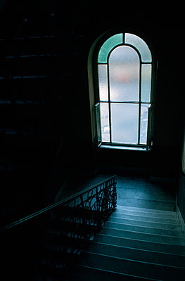 Treppe runter - p3300018 von Harald Braun