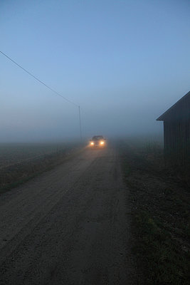 Car on rural road - p235m972892 by KuS