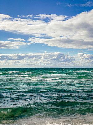 Sky and sea - p382m2284001 by Anna Matzen