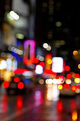 Times Square Abstrakt - p2380517 von Anja Bäcker