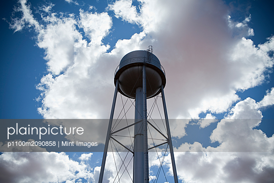 Water Tower - p1100m2090858 by Mint Images