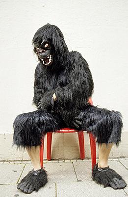 Monkey - p0451652 by Jasmin Sander