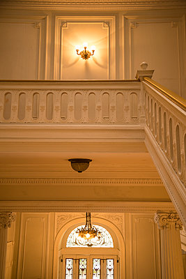 19th century house interior - p1170m1090772 by Bjanka Kadic