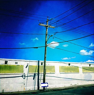 Stromleitungen - p7560146 von Bénédicte Lassalle