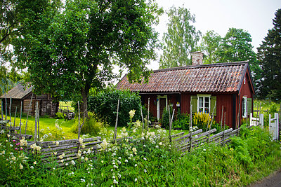 Small cottage - p1418m1572384 by Jan Håkan Dahlström