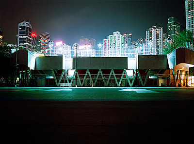 Stadium in hong kong - p9247338f by Image Source