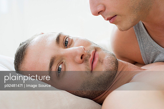 Homosexual couple - p9248147f by Image Source