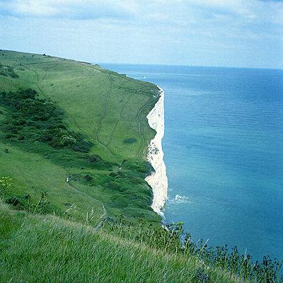 White Cliffs of Dover - p1063m2071771 by Ekaterina Vasilyeva