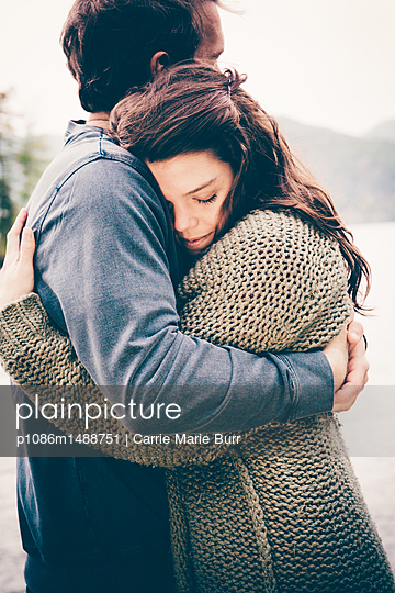 Lake George Fall Portraits - p1086m1488751 by Carrie Marie Burr