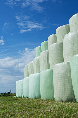 Bales of straw - p1149m1147259 by Yvonne Röder