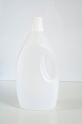 Plastic bottle - p1043m880205 by Ralf Grossek