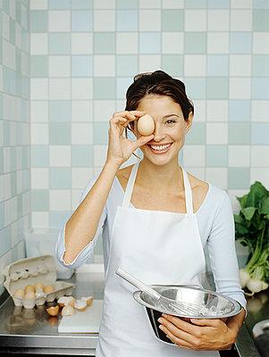 Eier verarbeiten - p4470216 von Anja Lubitz