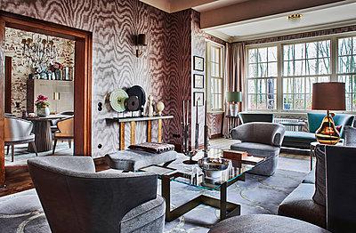 Villa mit luxuriöser Inneneinrichtung - p390m1362316 von Frank Herfort