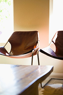Contemporary Leather Chairs - p5550889f by LOOK Photography