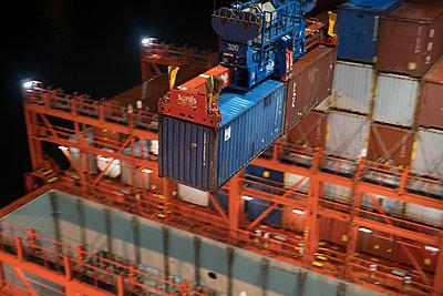 Hamburg, Containerhafen - p930m2148423 von Ignatio Bravo