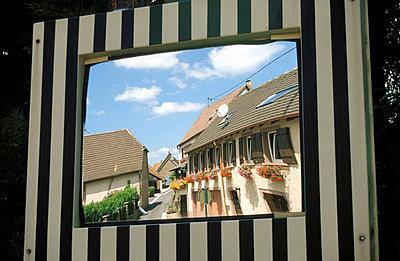 Spiegel im Verkehr - p0190158 von Hartmut Gerbsch