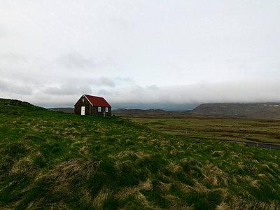 A church Iceland. - p31221022f by Ingemar Lindewall