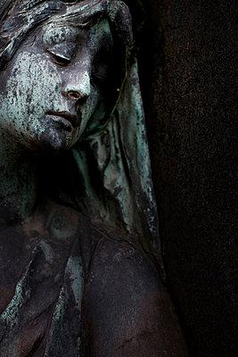 Friedhofsstatue - p3300155 von Harald Braun