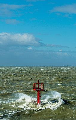 Storm at Westerschelde - p1132m1015206 by Mischa Keijser