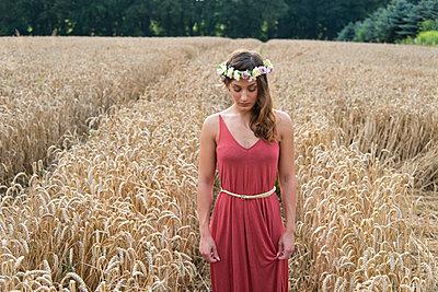 Portrait - p1066m1030578 by Ulrike Schacht