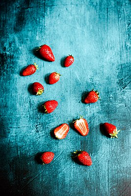 Strawberries - p1392m1559567 by Federica Di Marcello