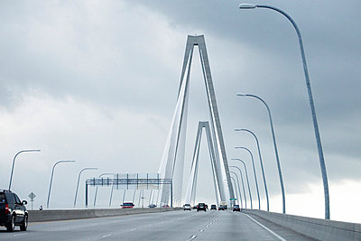 Cooper River Bridge, Charleston, South Carolina, USA - p694m663727 by Maria K