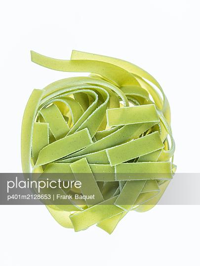 Green Tagliatelle - p401m2128653 by Frank Baquet
