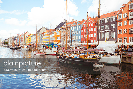 Kopenhagen Nyhavn - p432m1525103 von mia takahara