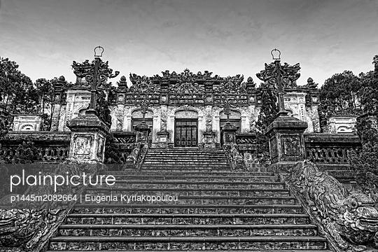 Khai Dinh Tempelanlage in Vietnam - p1445m2082664 von Eugenia Kyriakopoulou
