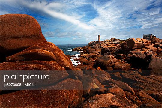 Steine an der Küste - p8970008 von MICK
