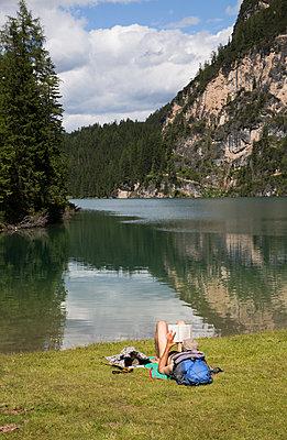 Tourist in Trentino Alto Adige - p1623m2272419 by Donatella Loi