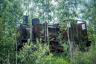 Old Locomotive - p229m2092535 by Martin Langer