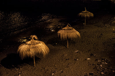 Thatch Umbrella - p1291m1465804 by Marcus Bastel