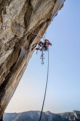 El Cap Climbing - p343m1184432 by Suzanne Stroeer