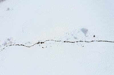 Stream in winter - p713m2289250 by Florian Kresse