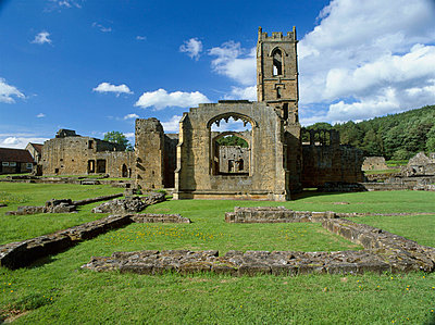 Mount Grace Priory. the priory from the south. - p8551774 by Mike Kipling