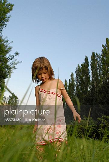Gamboles in the meadow   - p5673130 by Ilka Kramer