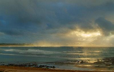 Morning storm at sea, Toowoon Bay - p1125m943668 by jonlove
