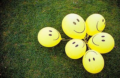 Eine Traube Luftballons - p0450266 von Jasmin Sander