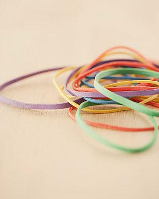 Elastic bands - p4950229 by Jeanene Scott