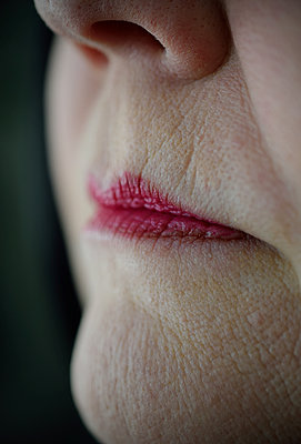 Painted lips - p1235m1559474 by Karoliina Norontaus