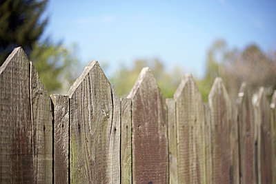Wooden fence - p4641087 by Elektrons 08