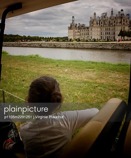 France, Chateau de Chambord, - p1105m2291251 by Virginie Plauchut
